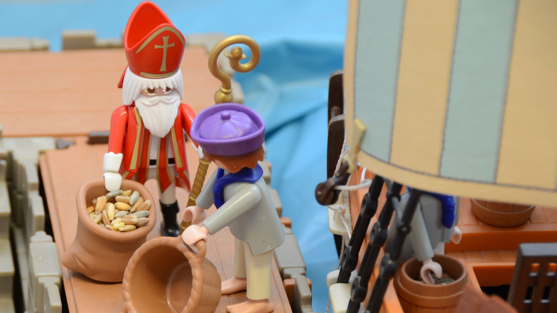 Nikolausgeschichte Die Kornlegende Playmobil Edition St