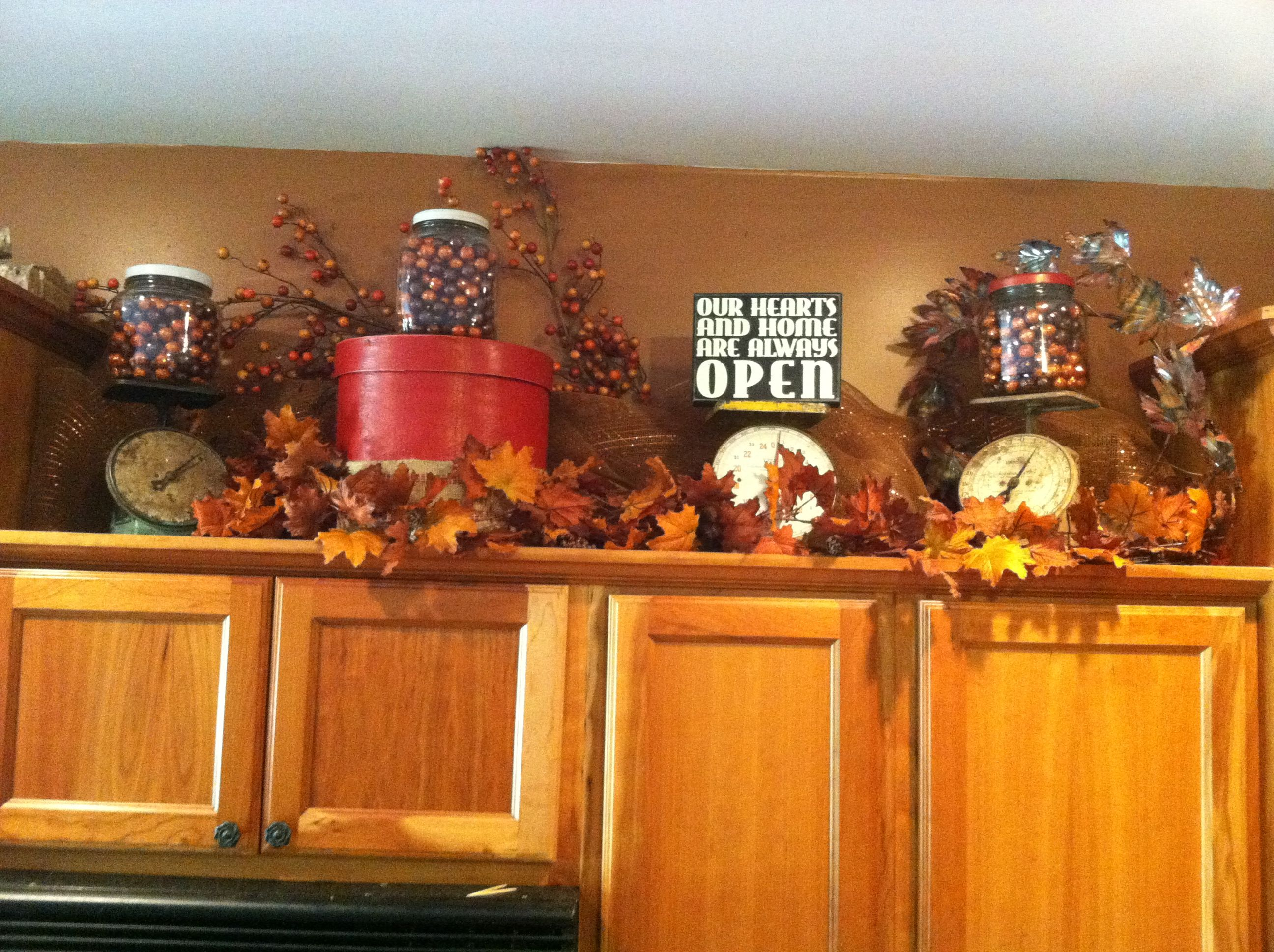 Fall Decor With Scales