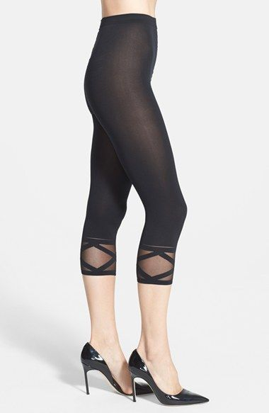 Wolford 'Bella' Capri Leggings available at #Nordstrom | Fashion ...