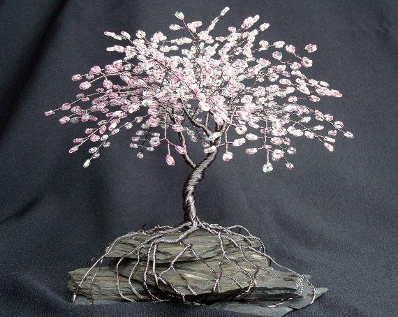 Pin Van Cornelia Hasani Op Craft Ideas Draad Bomen Levensboom Creatief