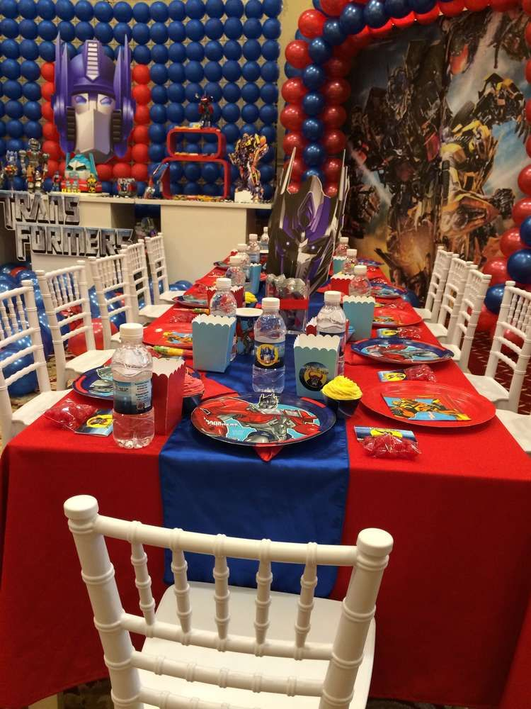 Transformers Birthday Party Ideas Party Transformers