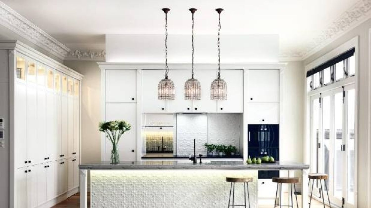 An example of kitchen lighting done right, this award-winning room ...