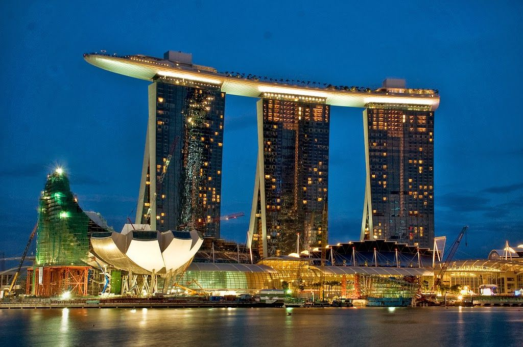 Marina Bay Sands Hotel Singapore 15 Luxury Hotels Around The World Always In Trend