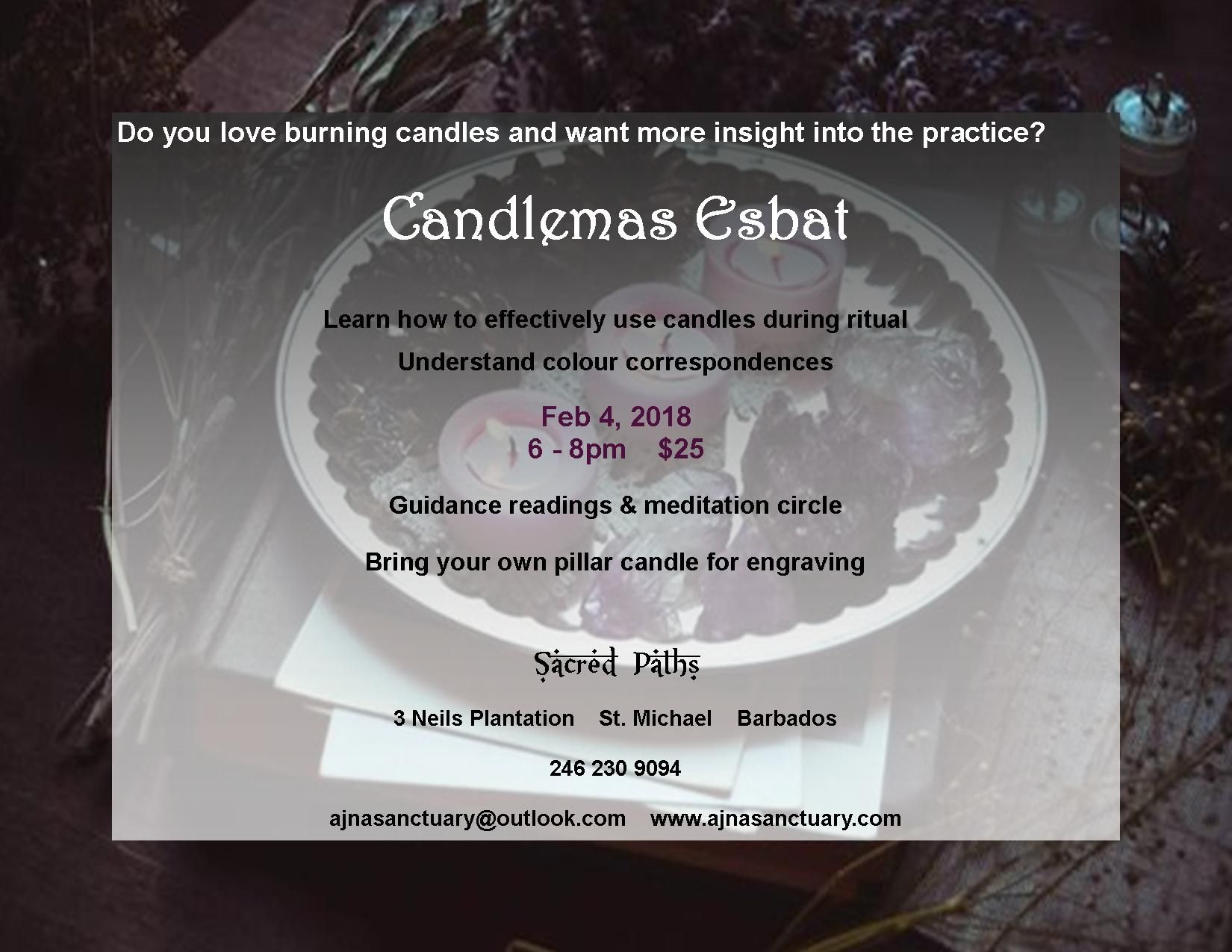 Learn The Elements Of Candle Magick During The Candlemas