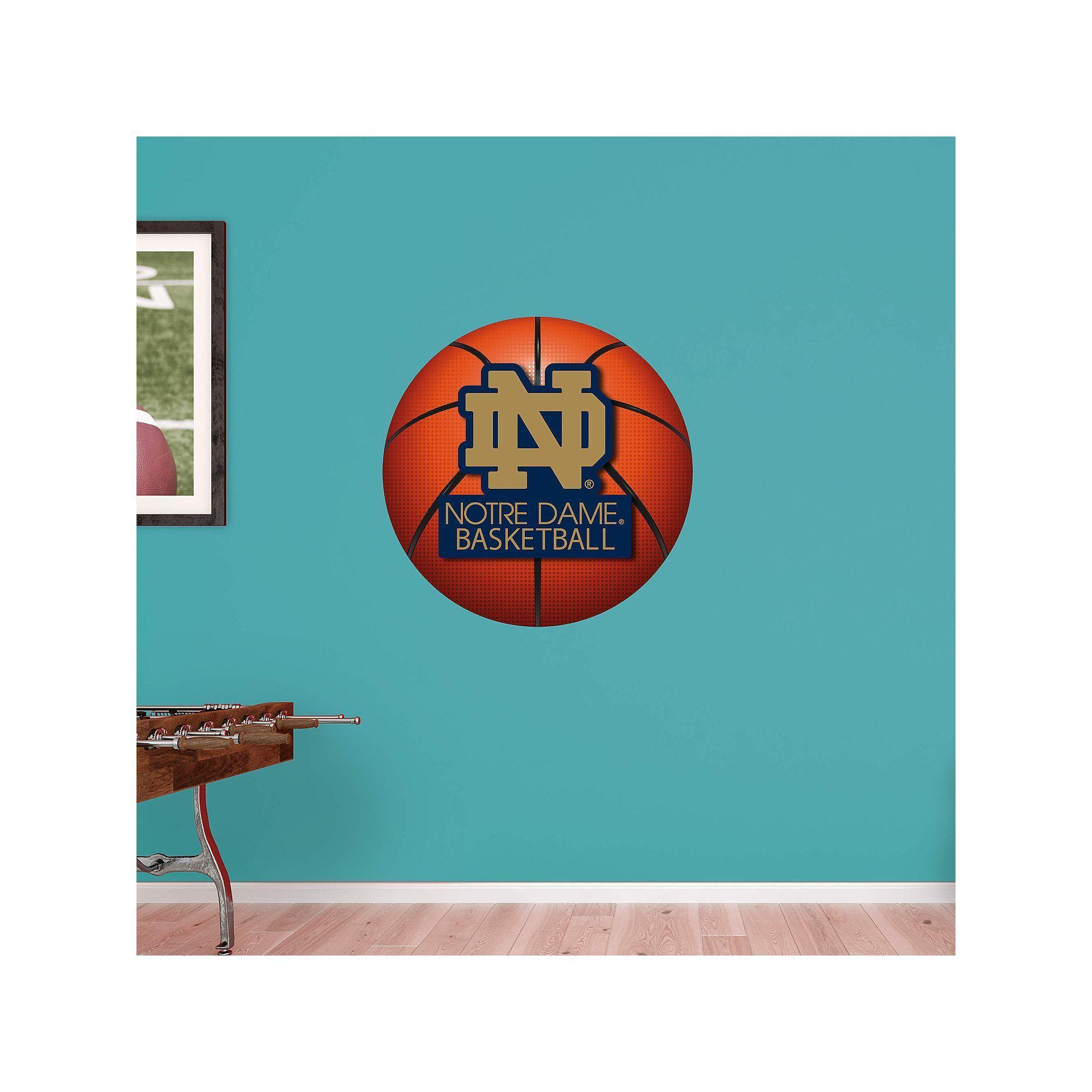 Außergewöhnlich Wandtattoo Basketball Ideen Von Notre Dame Fighting Irish Logo Wall Decal