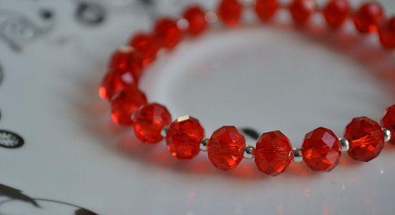 Valentine's Day Sparkly Red Crystal Swarovski by CraftiliciousCats, £5.00