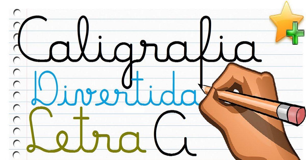 Apostila De Atividades De Caligrafia Com Letras Cursivas