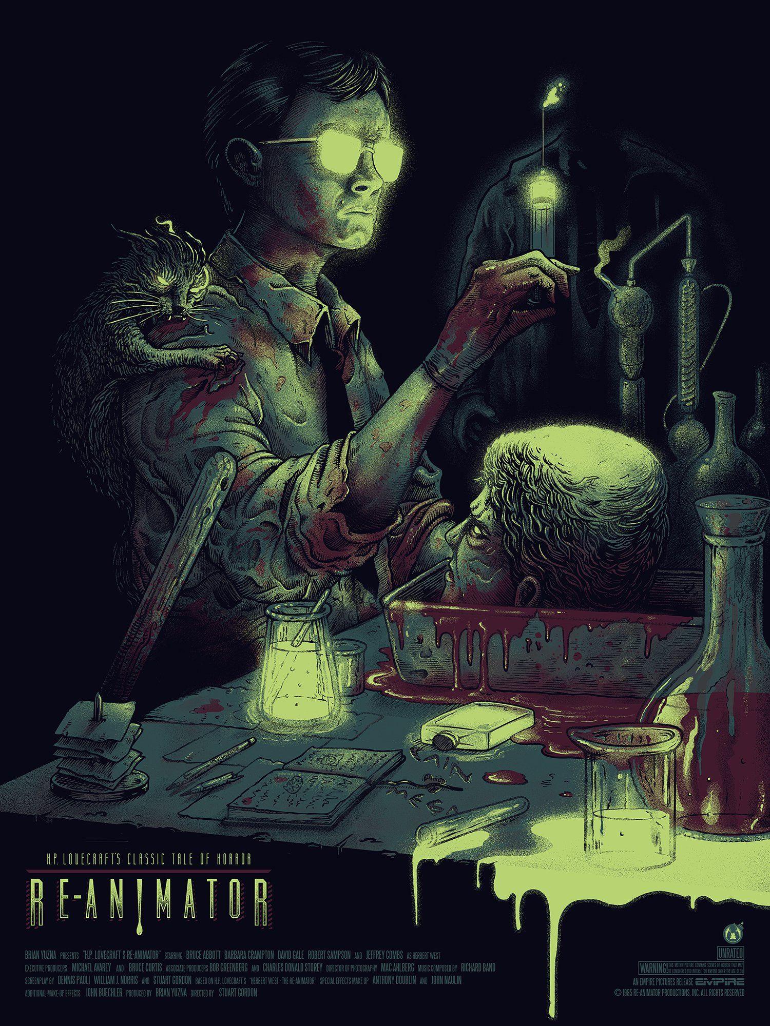 "Reanimator Movie Poster 24/""x36/"""