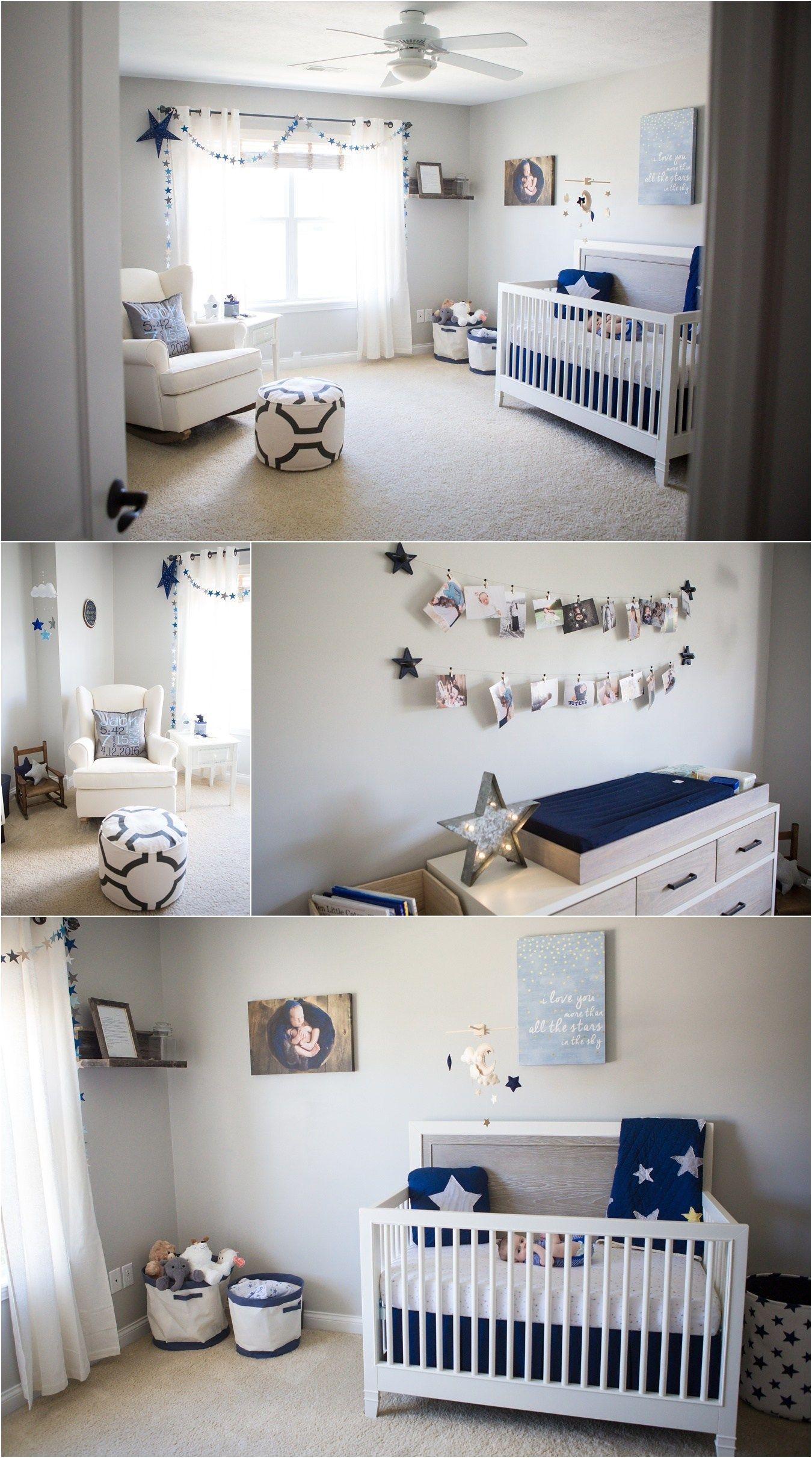 Navy Blue Nursery Ideas Star Themed Navy Blue Nursery Nursery
