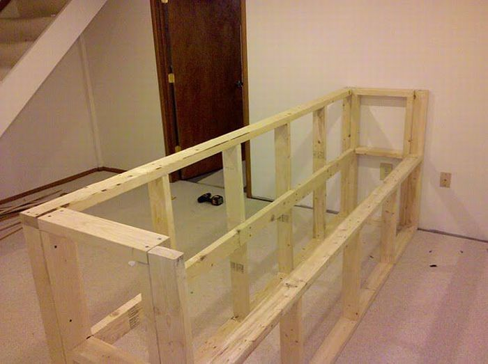 How To Build An Awesome Bar In Your Basement 35 Pics Basement