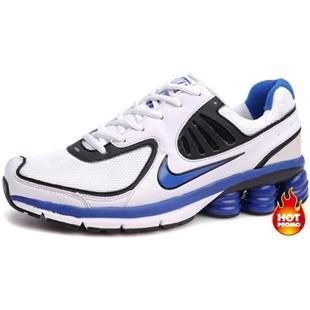 Mens Nike Shox R6 White Blue R6 Second  0c31a1b60