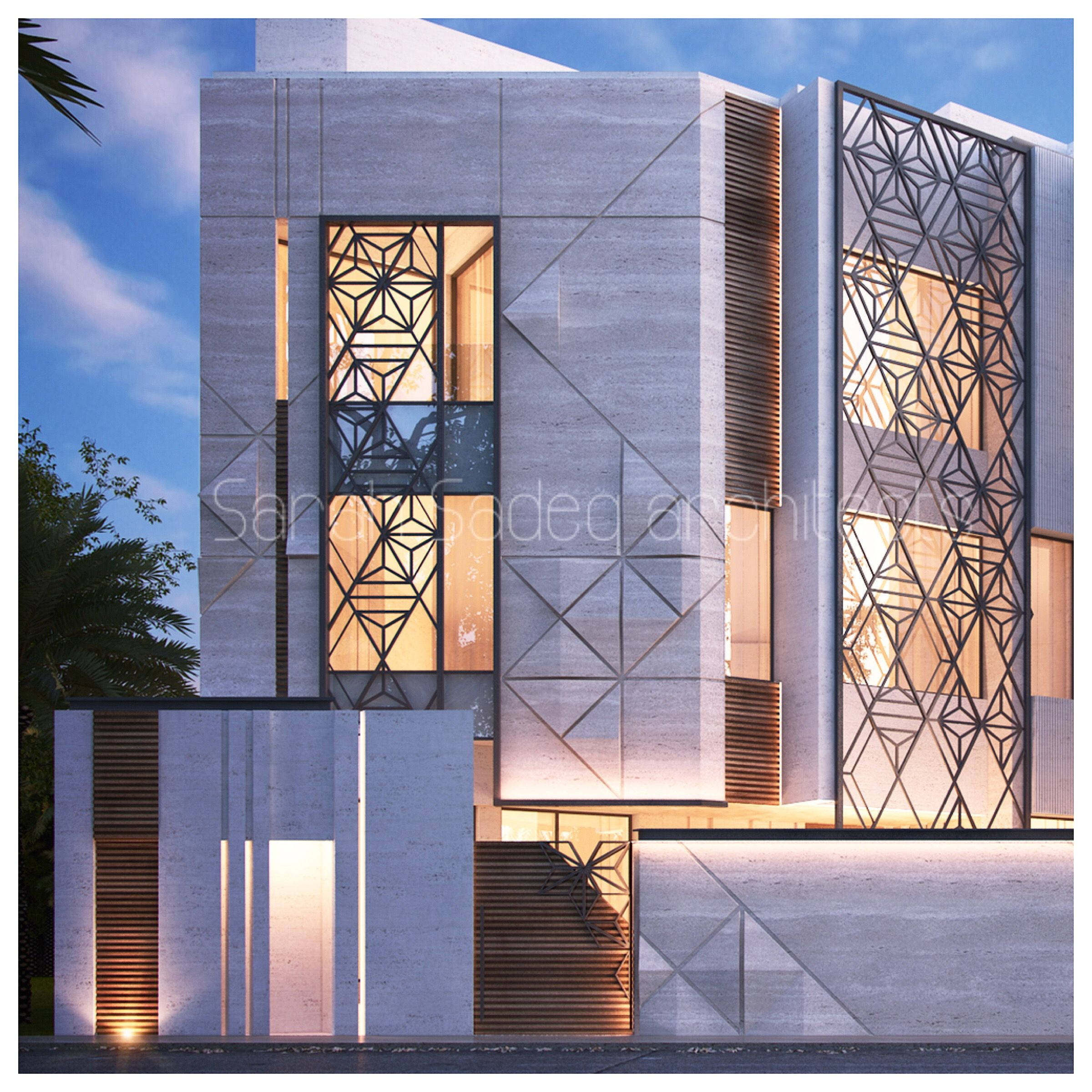 Private Villa Sarah Sadeq Architects Kuwait: Private Villa Kuwait Sarah Sadeq Architects