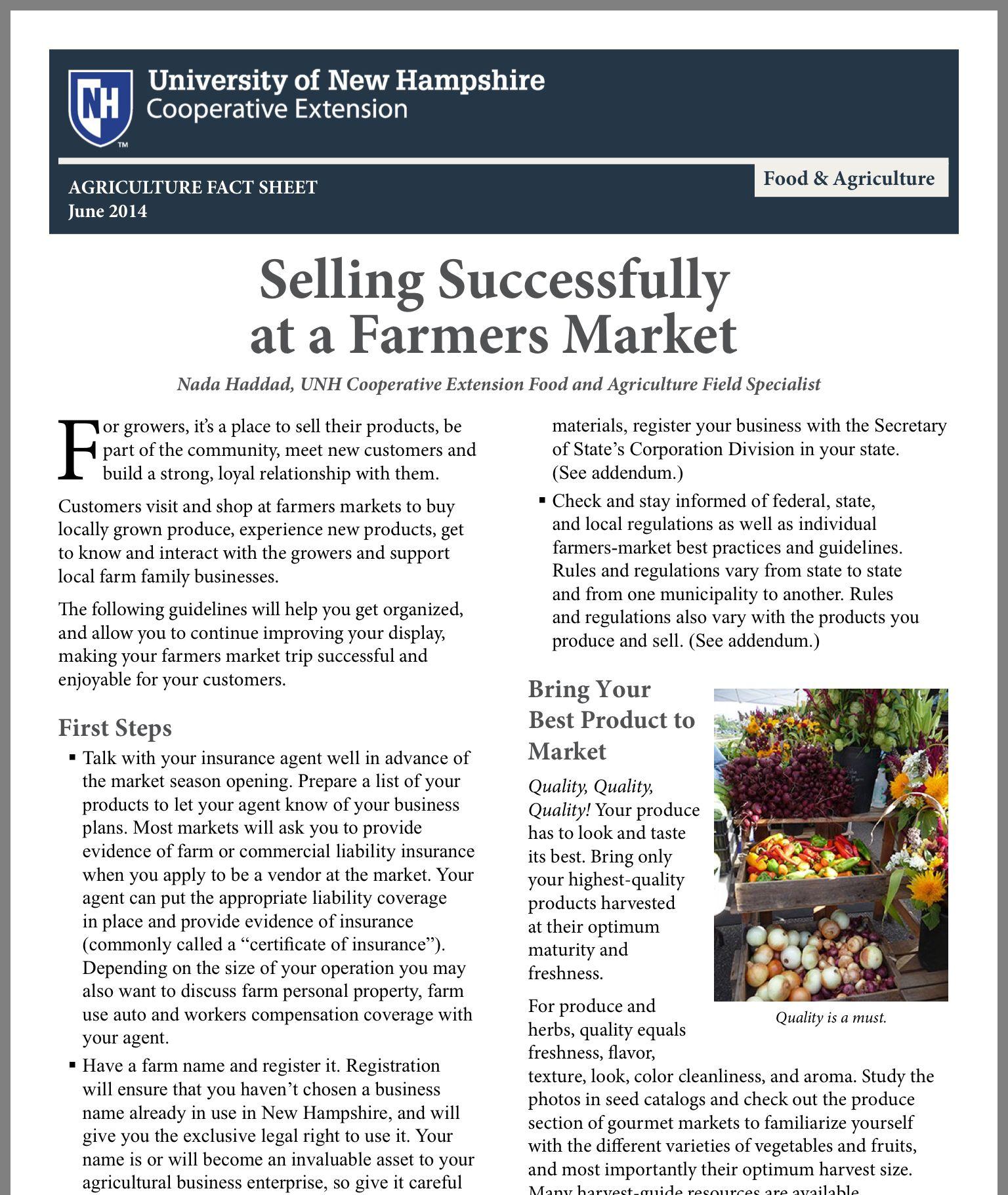 Farmers market seller tips farmers market farmer local
