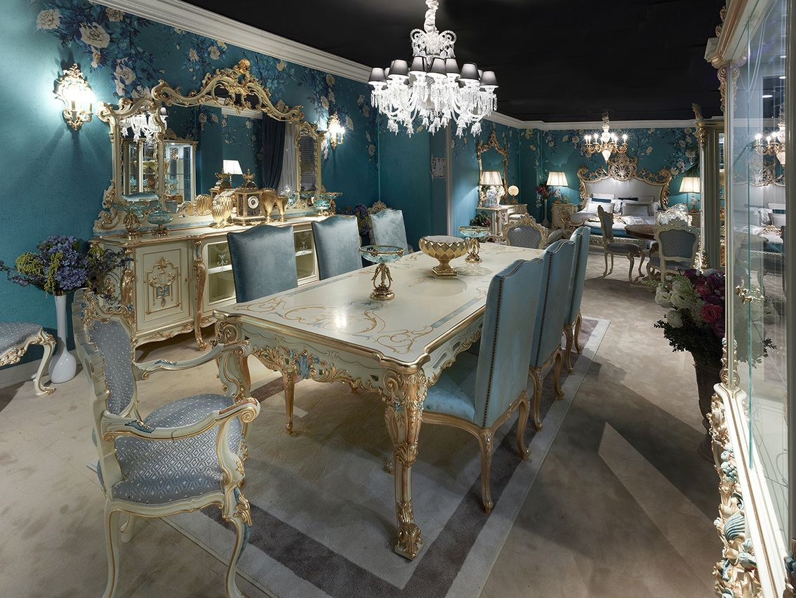 Mobili Per Camera Da Pranzo the new collection calendula | mobili di lusso, mobili