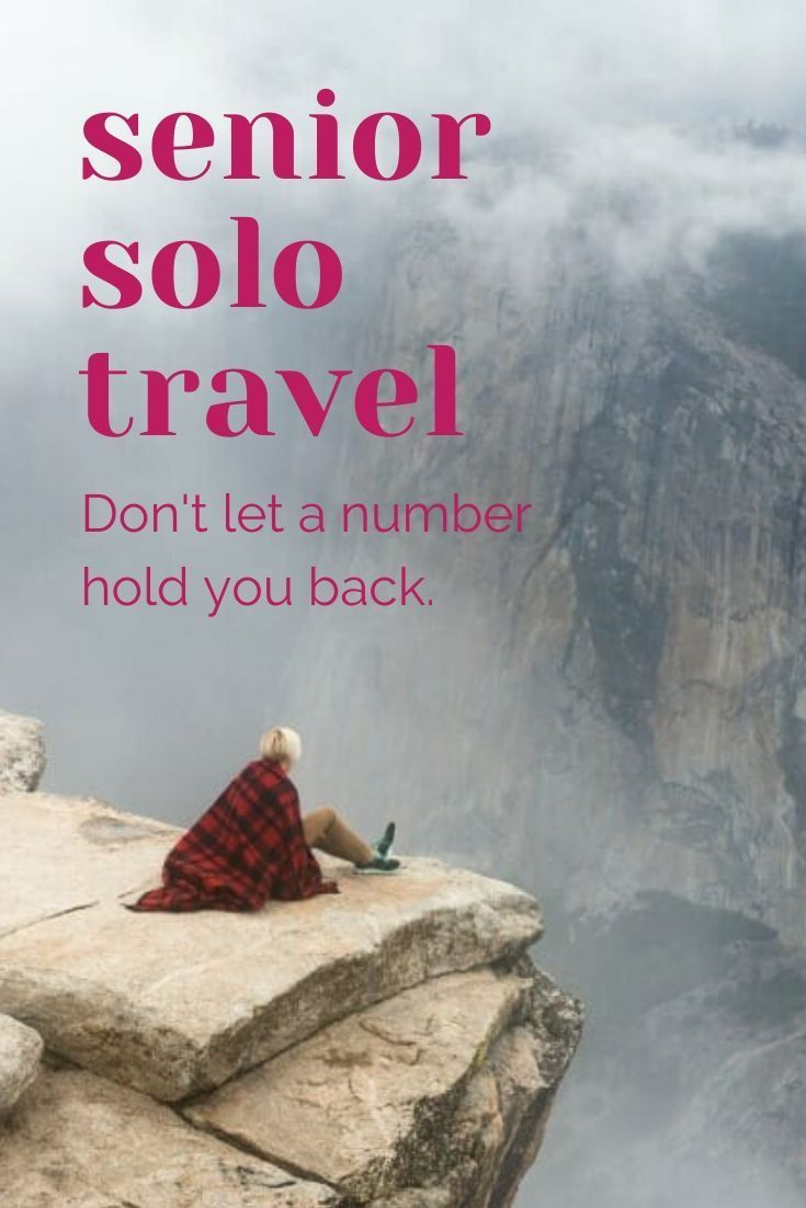 When it comes to senior solo travel, age should not prevent you from fulfilling your travel dreams. Senior members of the Solo Travel Society offers advice and encouragement. #solotravel #solofemaletravel #senior #travel