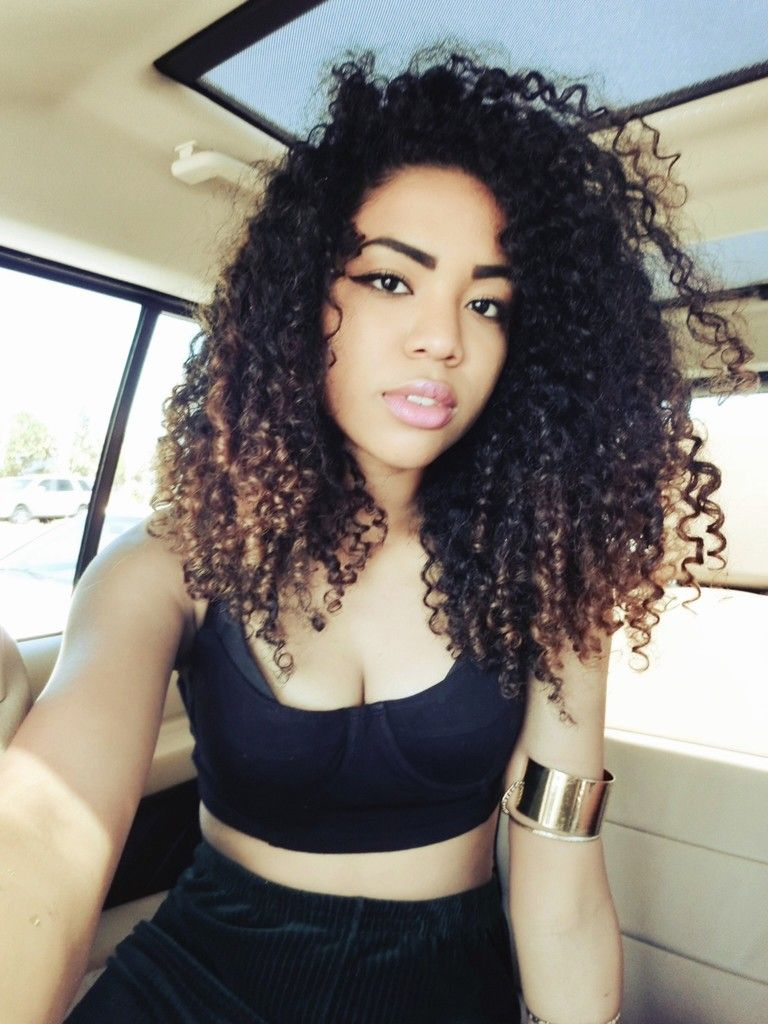 Natural Curly Hair Tumblr Uphairstyle
