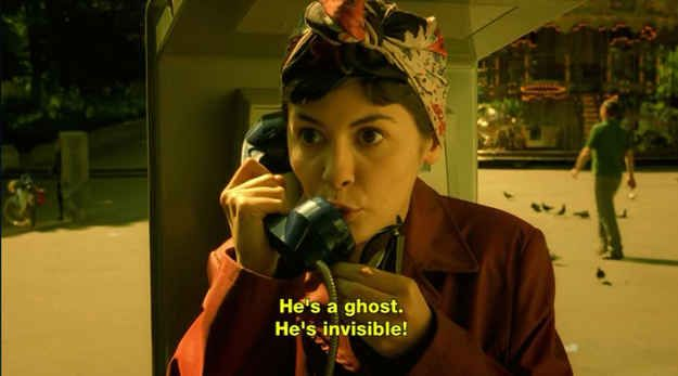 And while a well-tied headscarf might not be the most incognito disguise  ever, it has a definite allure. | Amelie, Amélie poulain, Short film