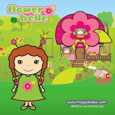 Flower Belle's home is Blossom Lodge. She has the prettiest garden in Bellevue! Do you agree?