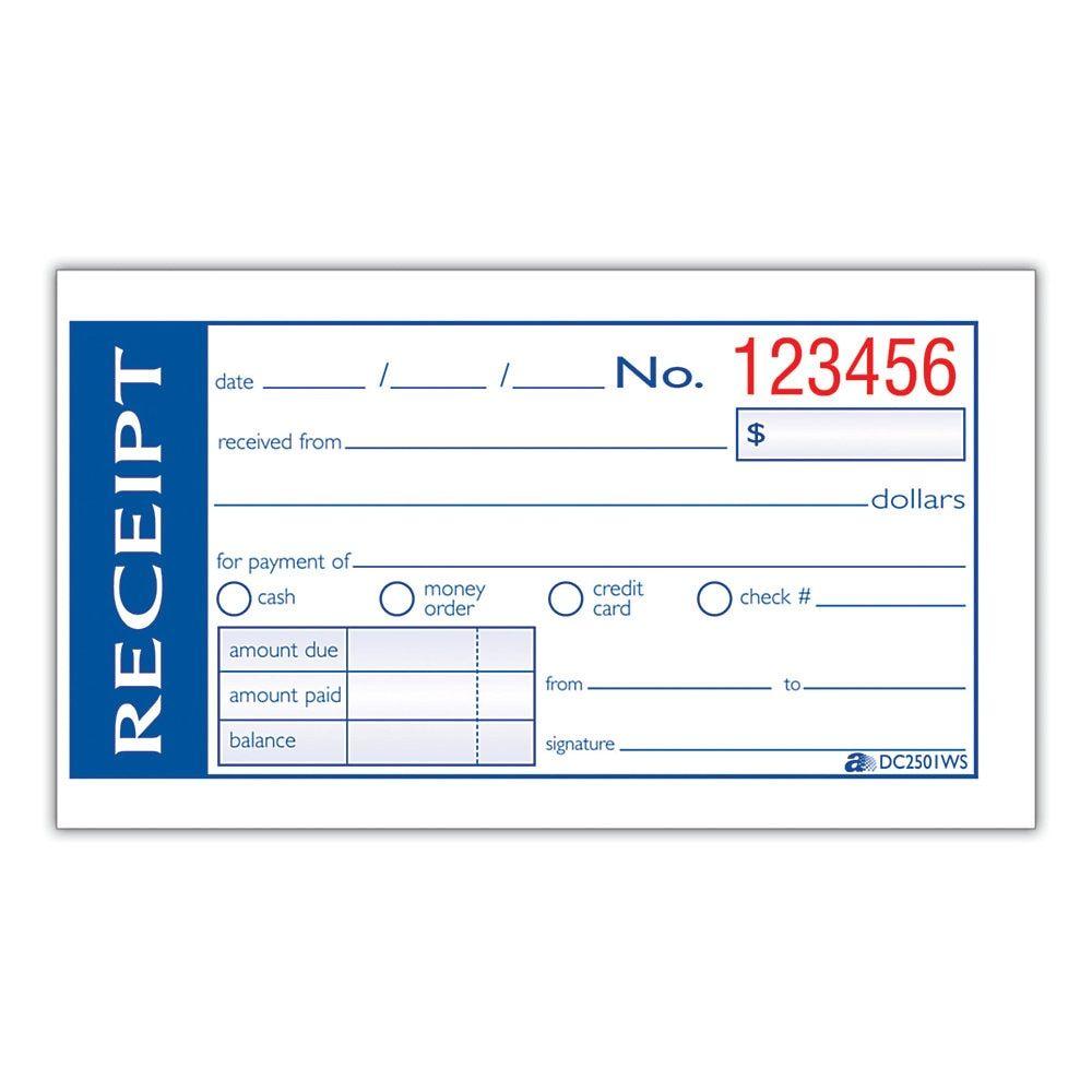 44 Sales Order Books Invoice Receipt Form Money List 50 Set Carbonless 2 Part