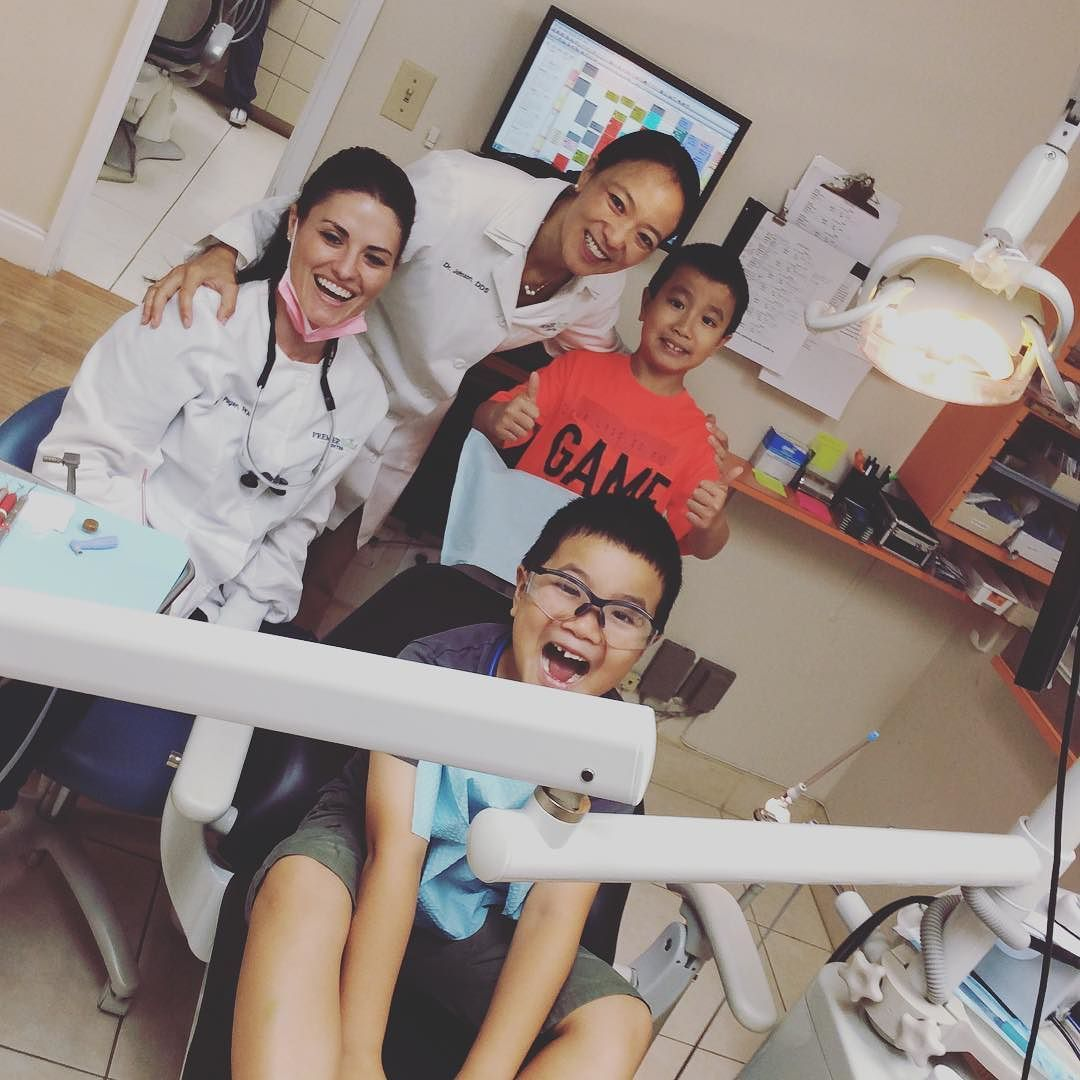 Seems like it's family day at Premier Smile Center. All we