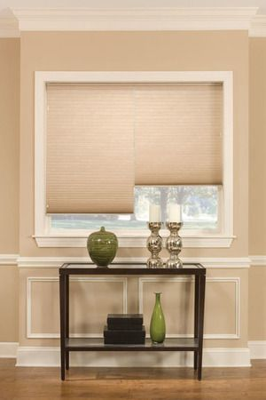 Have A Window That Will Need A 2 On 1 Headrail Two Windows In One Window Frame Cellular Shades Are A Stylish Alternative T Cellular Shades Cell Shade Blinds