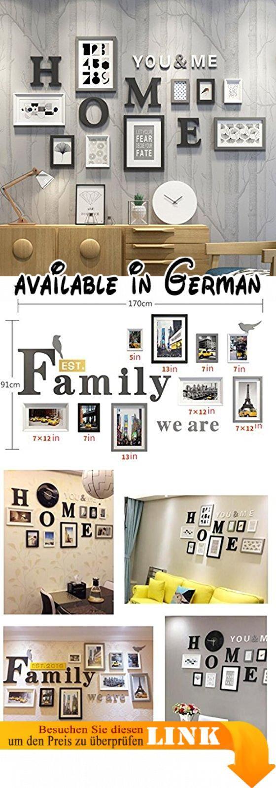 &Dekorative Wände Foto-Galerie-Rahmen-Satz der Wand mit verwendbarer ...