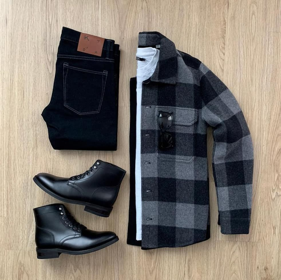 """Stylish Grid Game on Instagram """"Darker Shades in this Stylish Grid by @mrjunho3 🔻 Follow 👉 @stylishgridgame 👈 🔻 Tag 👉 StylishGridGame 👈 🔻 Brands ⤵ 🔹️Overshirt  …"""" is part of Mens fashion blogger - 5,287 Likes, 9 Comments  Stylish Grid Game (@stylishgridgame) on Instagram """"Darker Shades in this Stylish Grid by @mrjunho3 🔻 Follow 👉 @stylishgridgame 👈 🔻 Tag 👉…"""""""