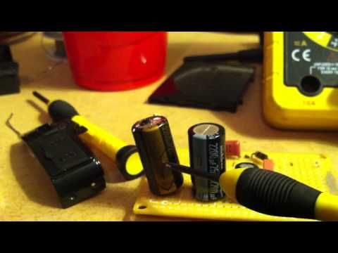How To Identify A Bad Capacitor Youtube Diy Electronics Computer Projects Electronics Basics