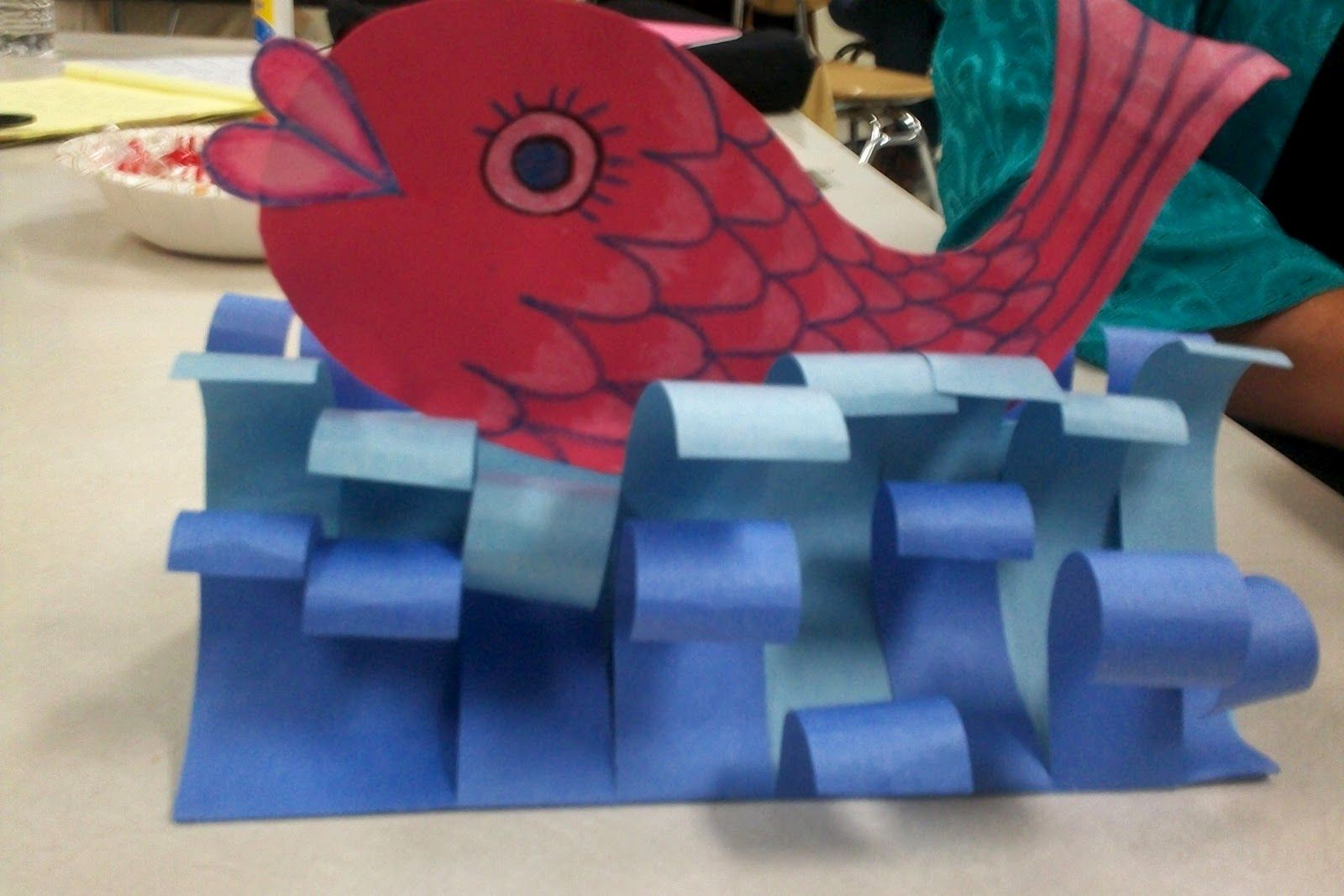 Paper Waves Put A Coin In The Mouth Of The Fish Do This Wave Idea With Noah S Ark Disciples