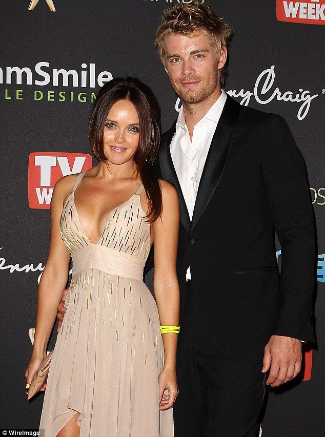 Married couple: Rebecca and Luke hit the 2012 Logie Awards red carpet together before tying the knot the following year