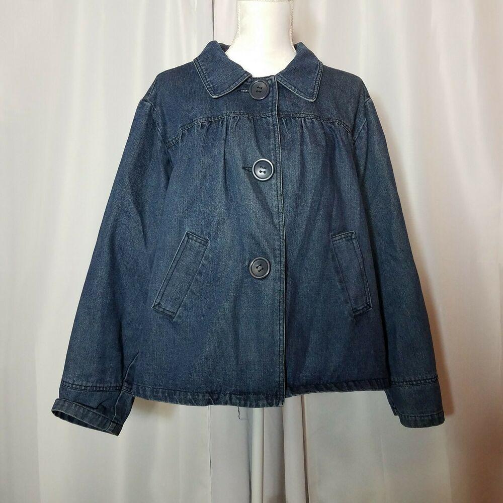 Paris Blues Plus Size 2x Denim Jean Jacket Blue Denim Parisblues Jeanjacket Casual Denim Jacket Women Long Denim Coat Blue Outerwear [ 1000 x 1000 Pixel ]