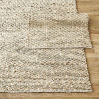 braided link jute rug | ballard designs ($125) | items for home