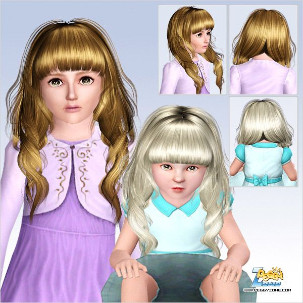 Rolled  peaks with bangs hairstyle ID 689 by Peggy Zone - http://simshairs.com/rolled-peaks-with-bangs-hairstyle-id-689-by-peggy-zone/
