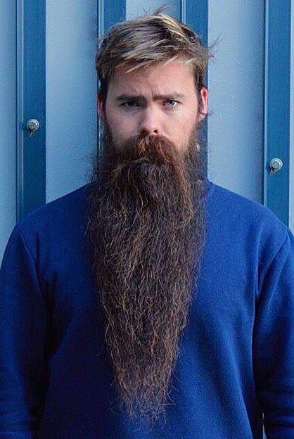 how to get long beard