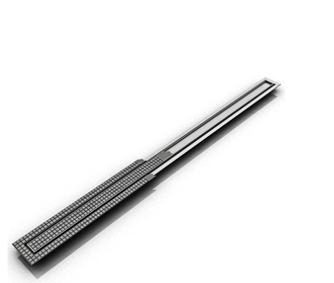 Fttif 65 Infinity Drain Stainless Steel Channel Linear Drain