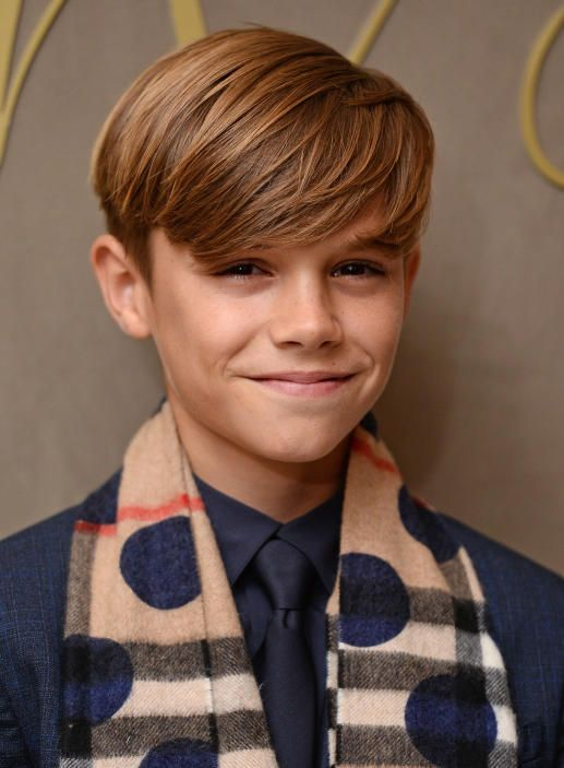 Romeo Beckham Google Zoeken Boys Hairstyles Hair Cuts Boy