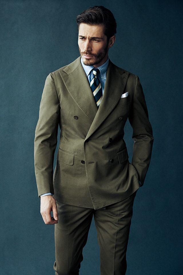 「グリーン スーツ」の画像検索結果