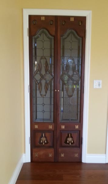 Pooja room door designs pooja rooms pinterest room for Simple room door design