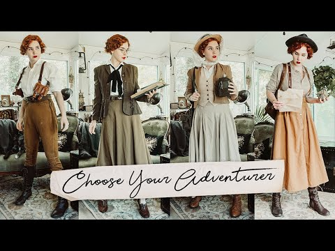 Choose Your Adventurer 10 Outfits To Pretend You Re A Vintage Y Explorer Youtube In 2020 Adventure Style Funky Fashion Tatyana Boutique