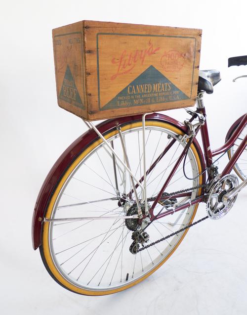 Spotlight Upcycled Vintage Bike Crates Eleanor S Stylish Bicycle Accessories For Ladies Bicycle Bike Vintage Bike