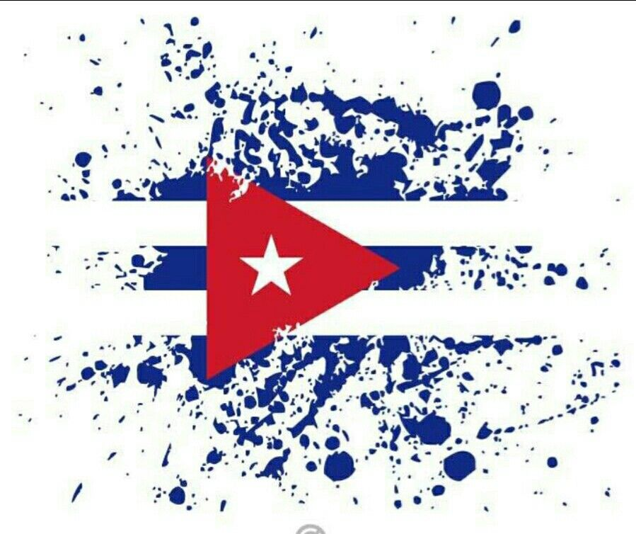 Pin By Nikos Vernardis On Being Creative Flag Art Cuban Flag Cuba Art