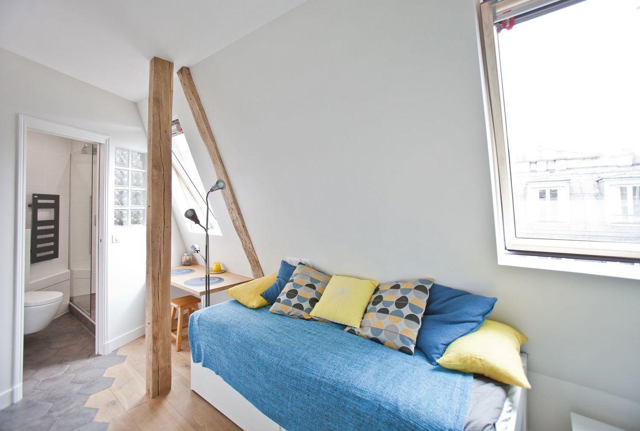 Appartement Paris 9e Studio Etudiant Hyper Optimise Appartement Appartement Paris Deco Petit Appartement