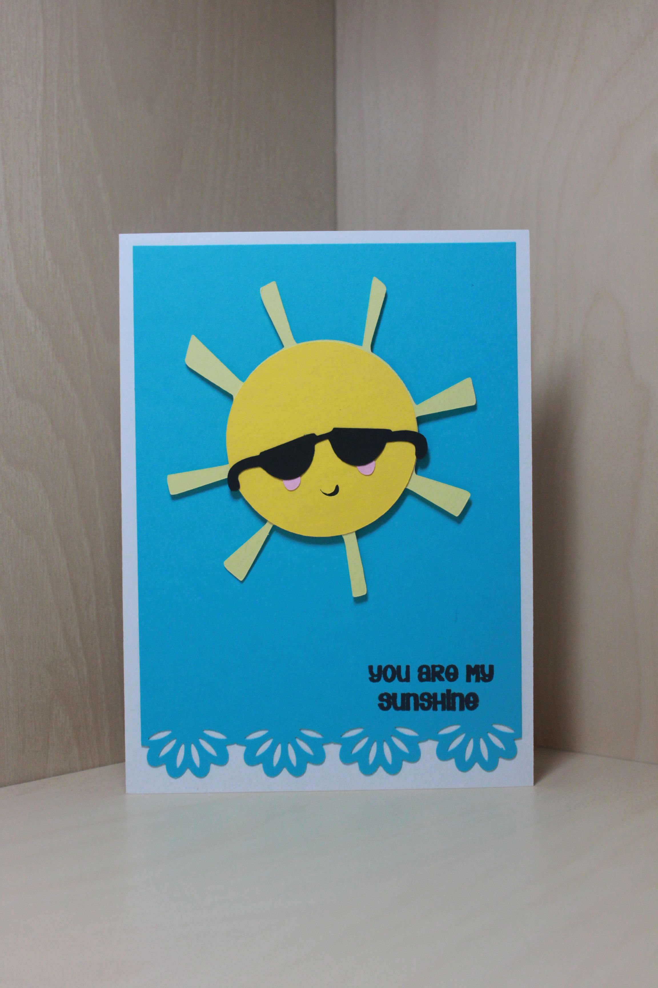 Sun card using cricut cartridge simply charmed and stamp set by sun sundae card using cricut cartridge simply charmed and stamp set by pink by design called summer vacation kristyandbryce Image collections