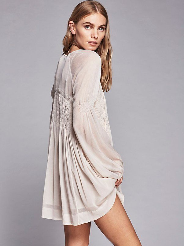 2ecbc268a4a Lini Smocked Mini Dress at Free People Clothing Boutique