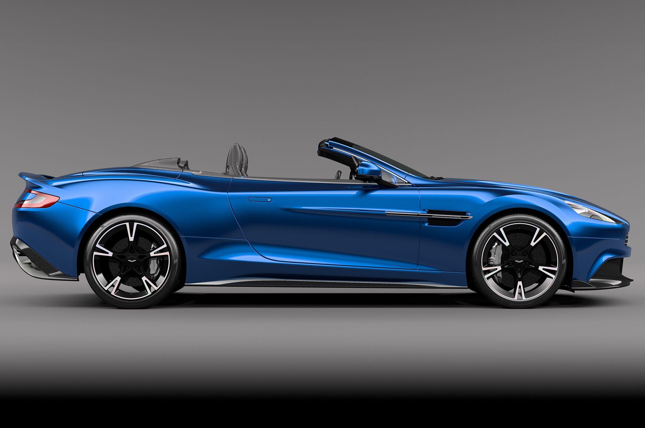 Aston Martin Vanquish S Vanquish Volante Side Profile