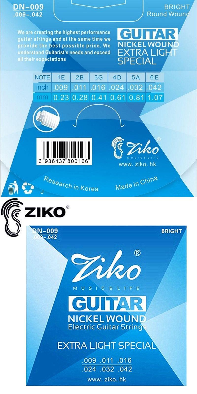 ZIKO guitar strings.009-.042 Electric Guitar strings guitar parts ...