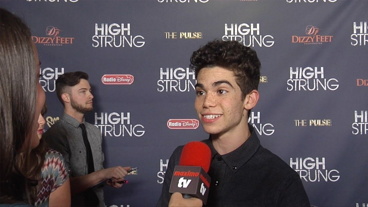Cameron Boyce Interview High Strung Premiere Celebrity Red