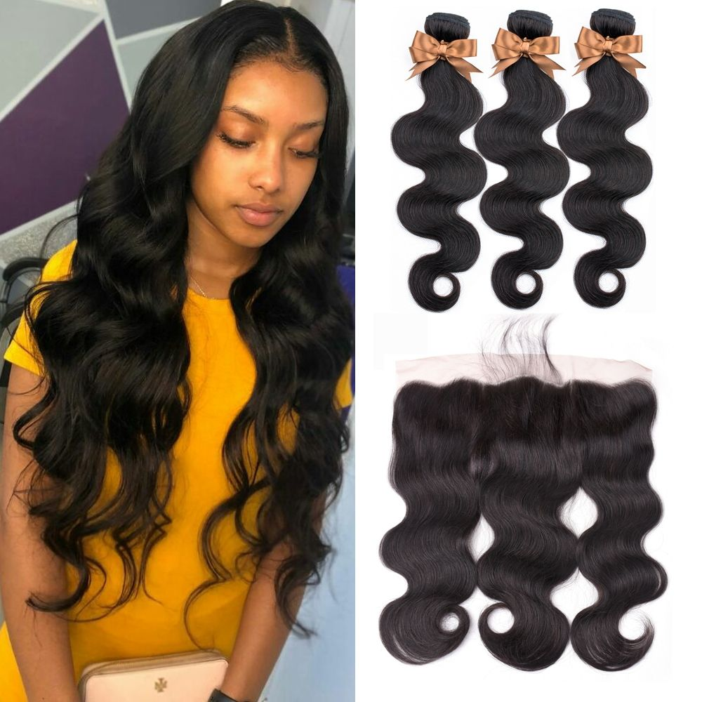 Brazilian Hair Weave Bundles Body Wave Bundles With