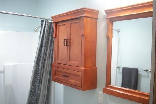 20++ Naples 26 34 in w bathroom storage wall cabinet in warm cinnamon best