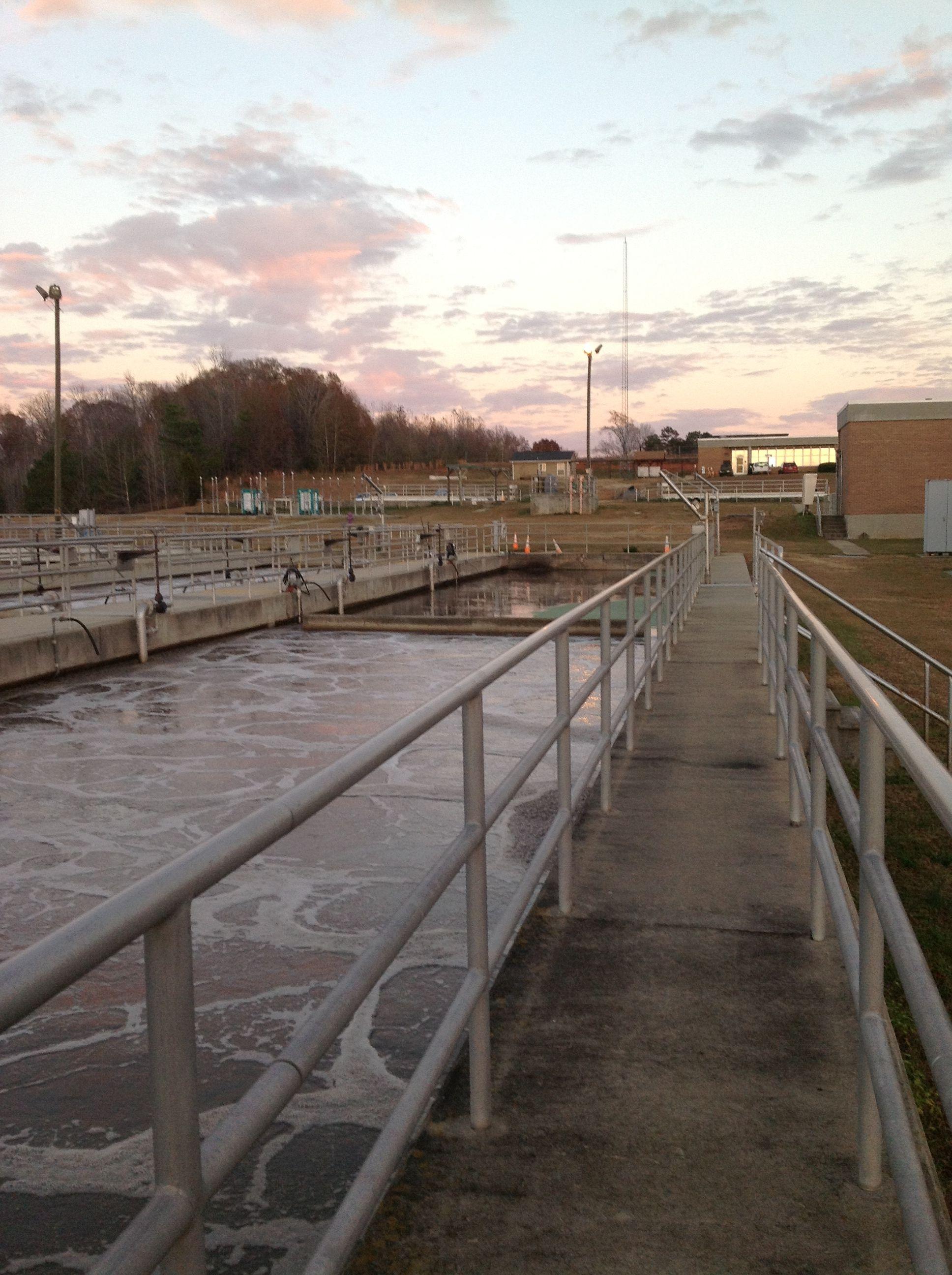 Aeration basin